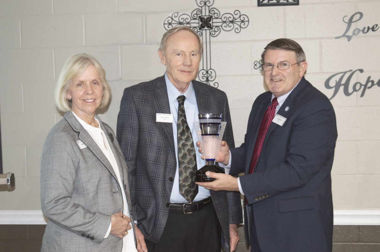 LEGACY OF SERVING: Abbotts Honored with BVC's Highest Award