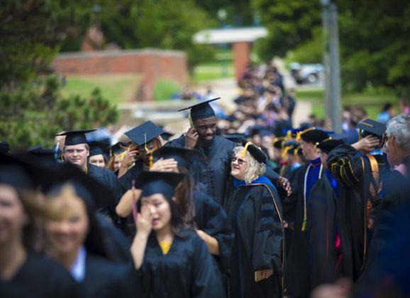 OBU confers degrees upon 293 graduates during 2019 spring commencement