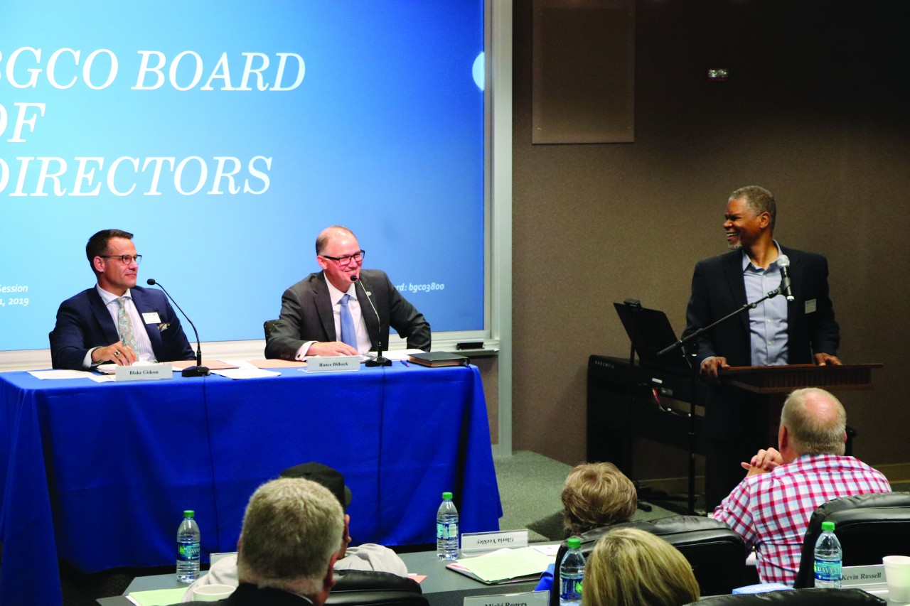BGCO Board considers 2020 ministry plans at May meeting