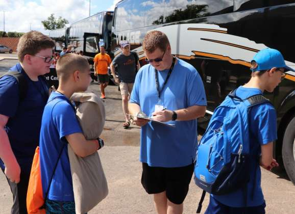Double Duty, Double Blessing:  Sponsor takes time to serve at CrossTimbers, Falls Creek