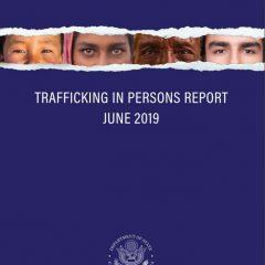 2019 human trafficking report: U.S. has work to do