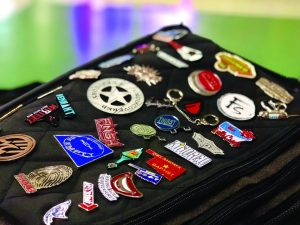 Pins with a purpose: Popularity of pin trading grows in 10th summer at Falls Creek - Baptist Messenger of Oklahoma