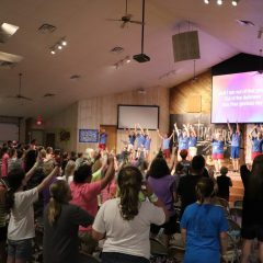 Children respond to the Gospel at CrossTimbers Grand Lake