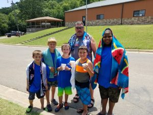 Davis, Chickasaw Trail reaches kids for Christ through CrossTimbers, Team Kid - Baptist Messenger of Oklahoma 1