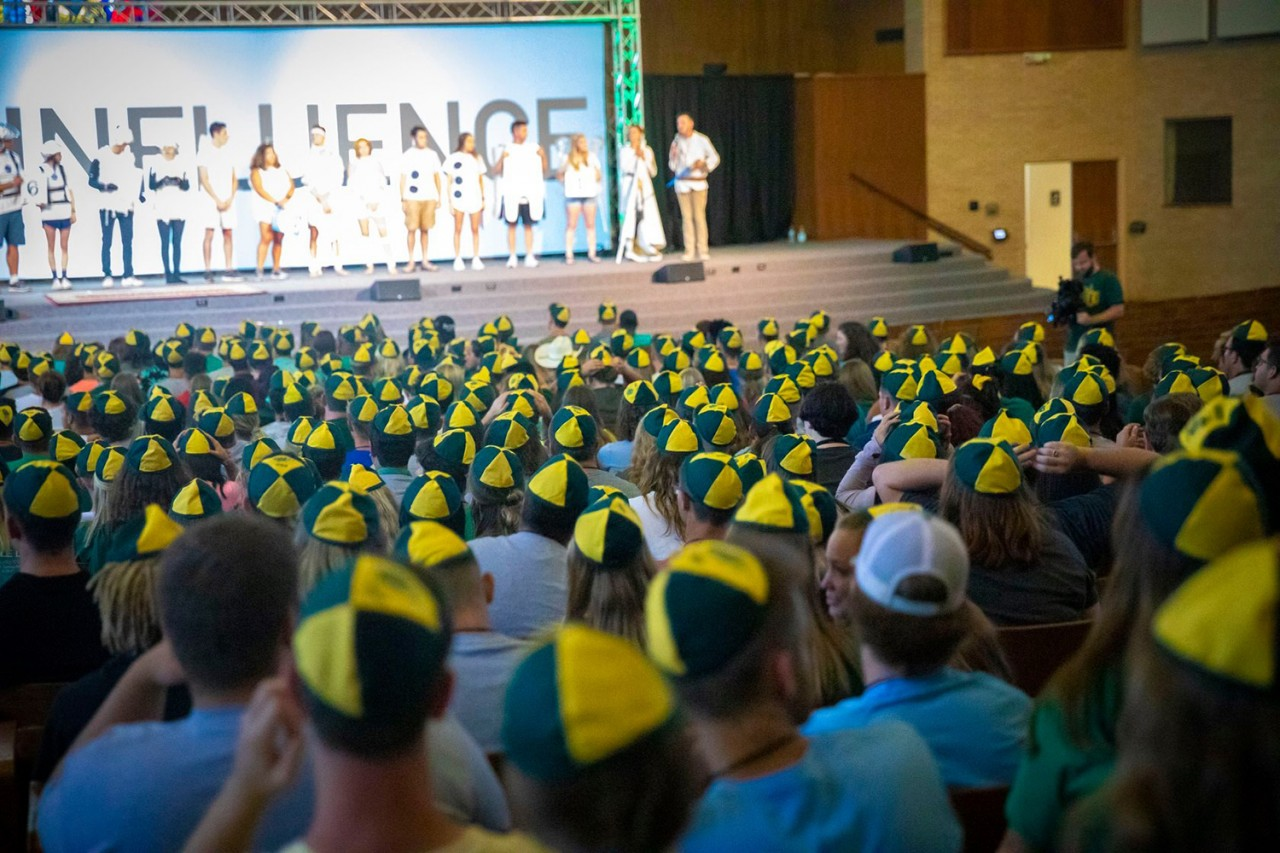 OBU welcomes more than 520 new students to Bison Hill