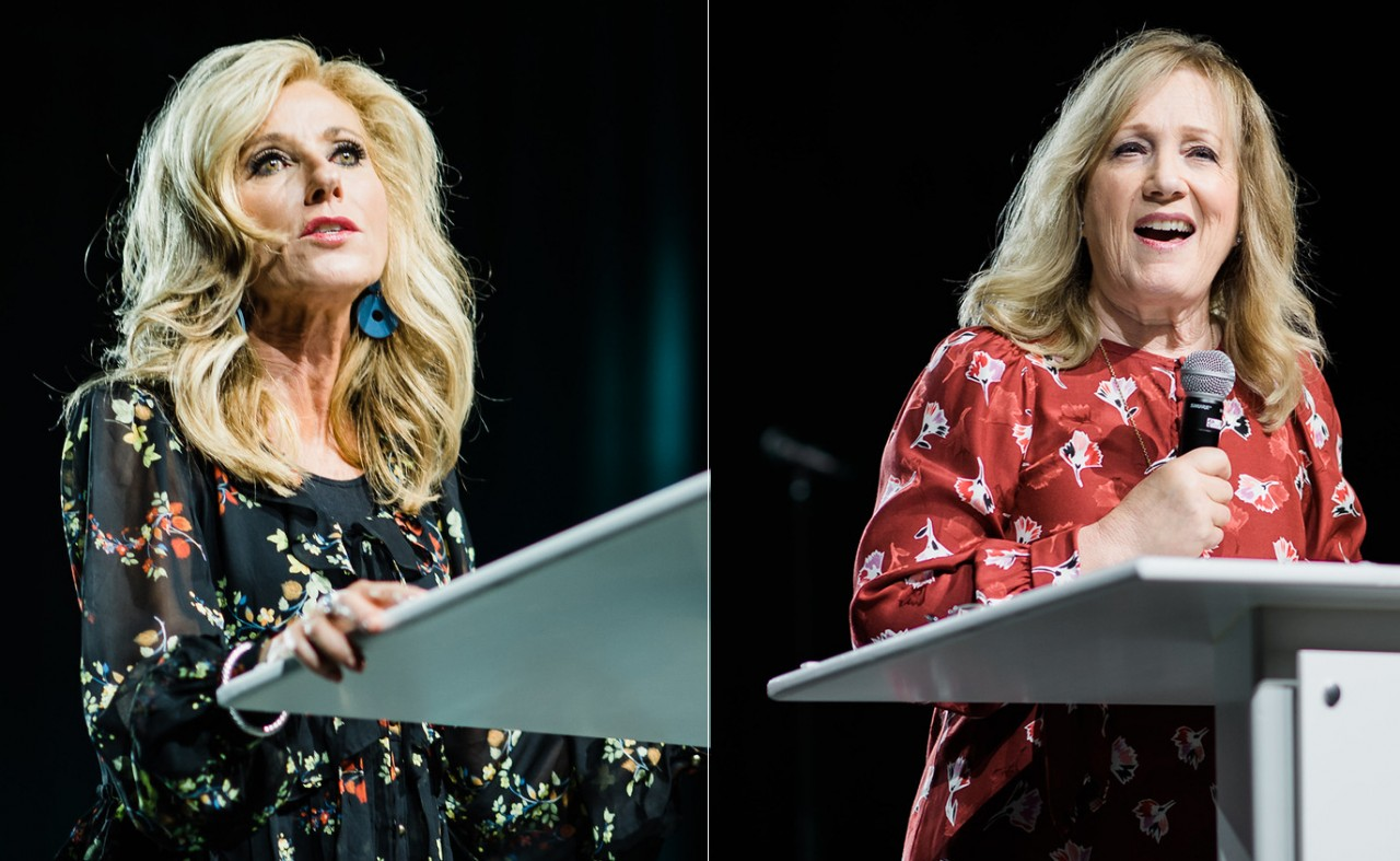 Beth Moore, Kay Warren address courage, abuse's effects
