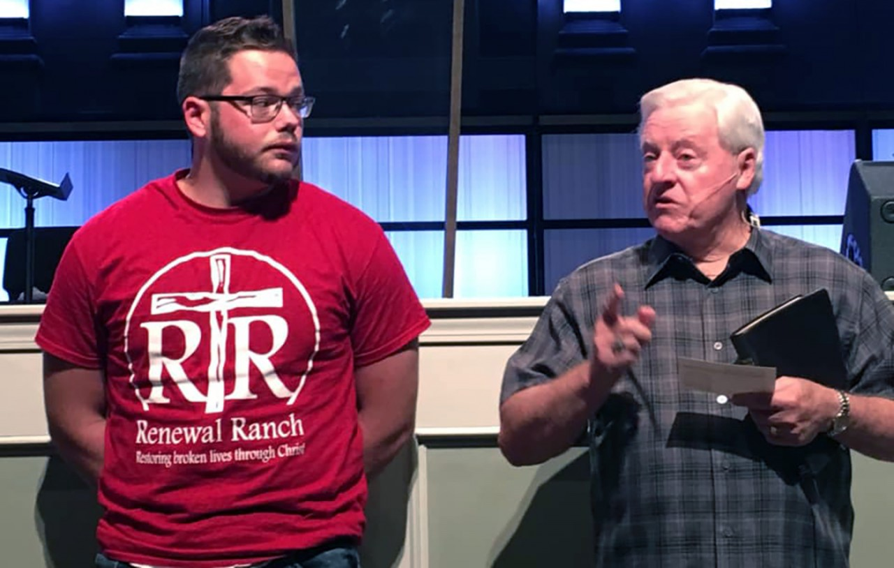 Man baptized at church he vandalized 6 months earlier