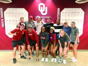 Adoh on the go: OU track athlete still serving God, has Olympic goals - Baptist Messenger of Oklahoma