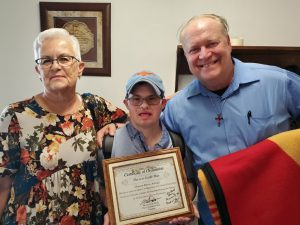 Deacon with Down syndrome follows God's call - Baptist Messenger of Oklahoma 2
