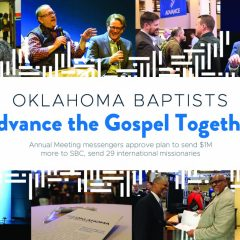 Oklahoma Baptists 'Advance the Gospel Together'