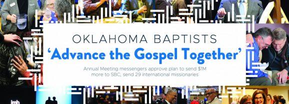 Oklahoma Baptists 'Advance the Gospel Together'