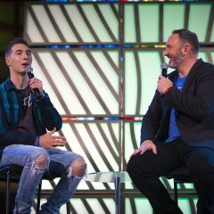 Jeremy and Caleb Freeman deliver inspirational OBU chapel message Nov. 20