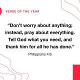 Top Bible verse of 2019
