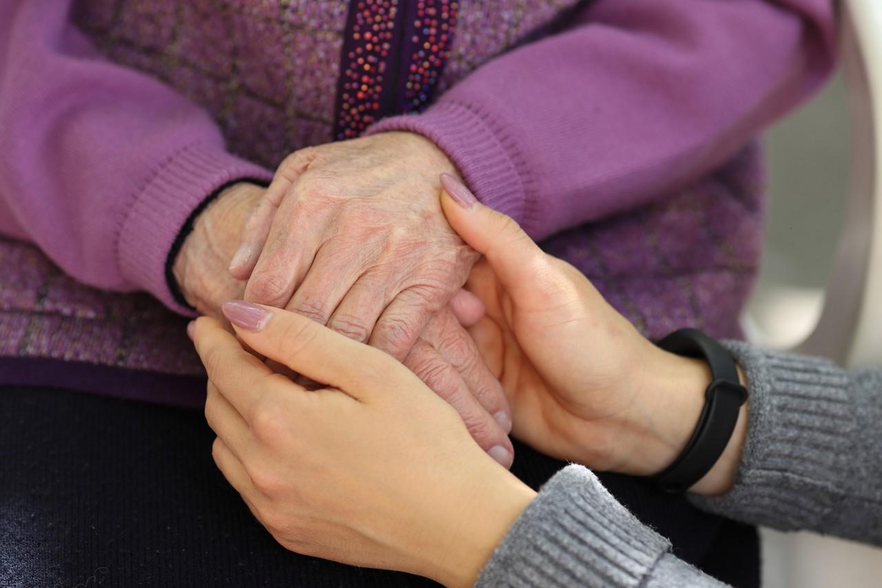 Tisher cares for senior residents