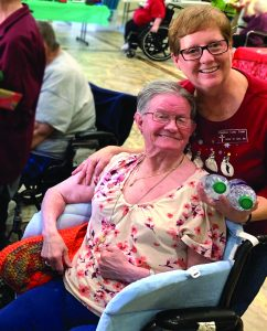 Tisher cares for senior residents - Baptist Messenger of Oklahoma 1