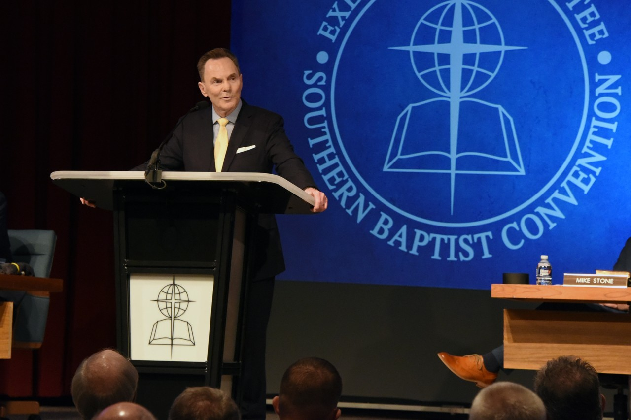 Floyd to propose SBC EC mission, ministry changes