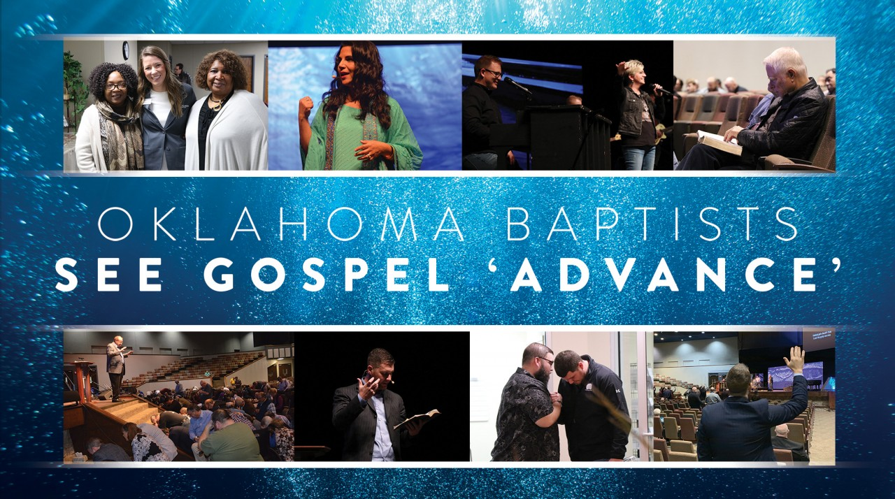 Oklahoma Baptists see Gospel 'advance'