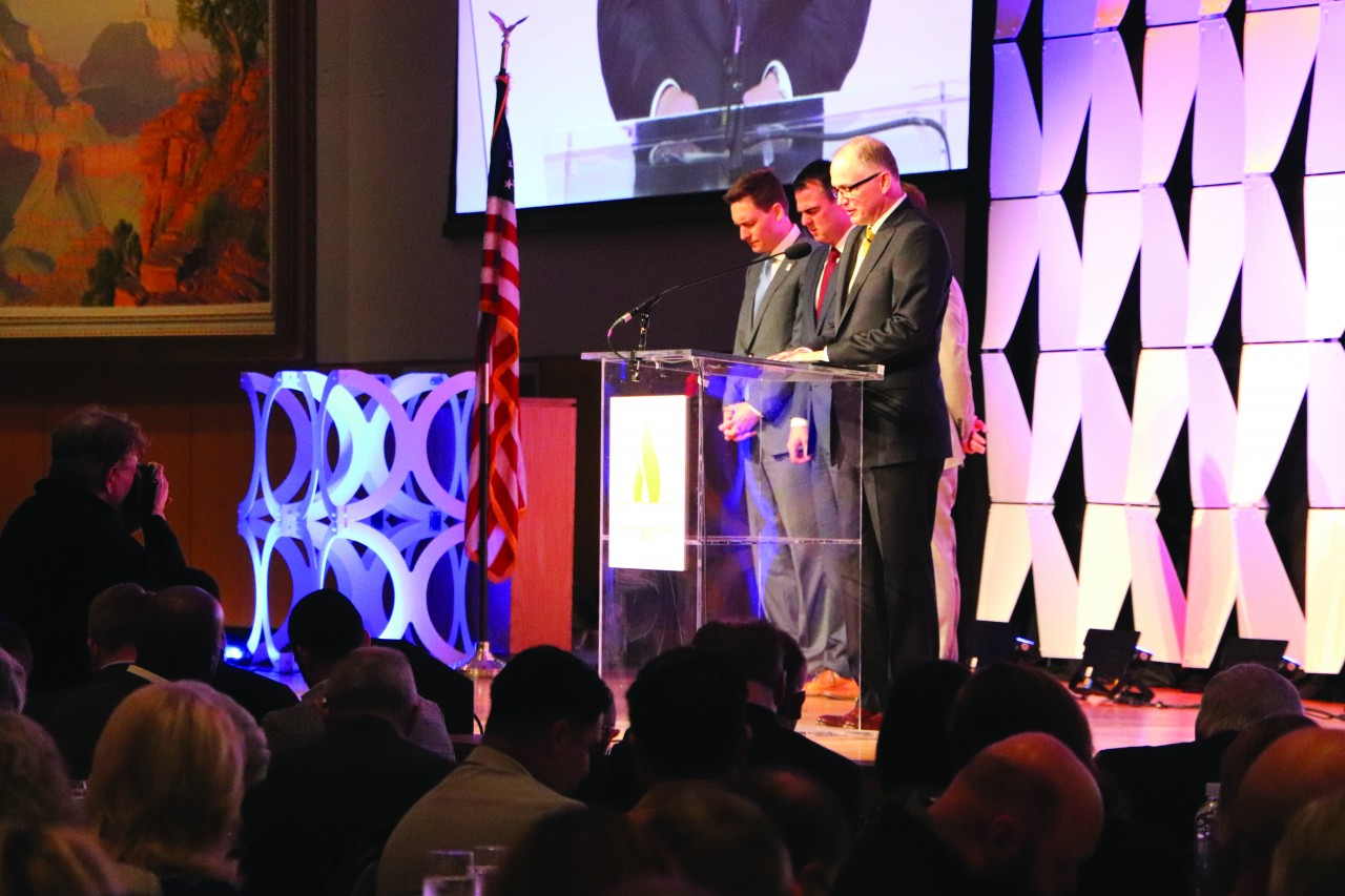 Inaugural Oklahoma Governor's Prayer Breakfast inspires