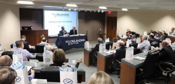 Regional reach, global impact: Oklahoma Baptists' Board sees fruit from regional ministry strategy