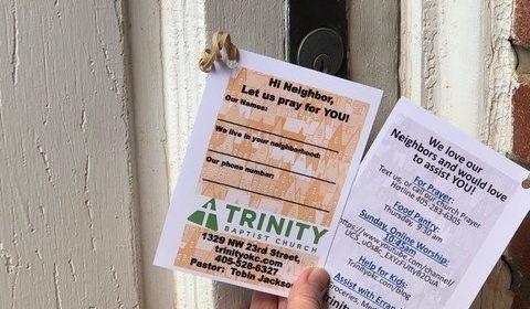 Oklahoma Baptist churches find ways to be neighborly amid COVID-19 crisis