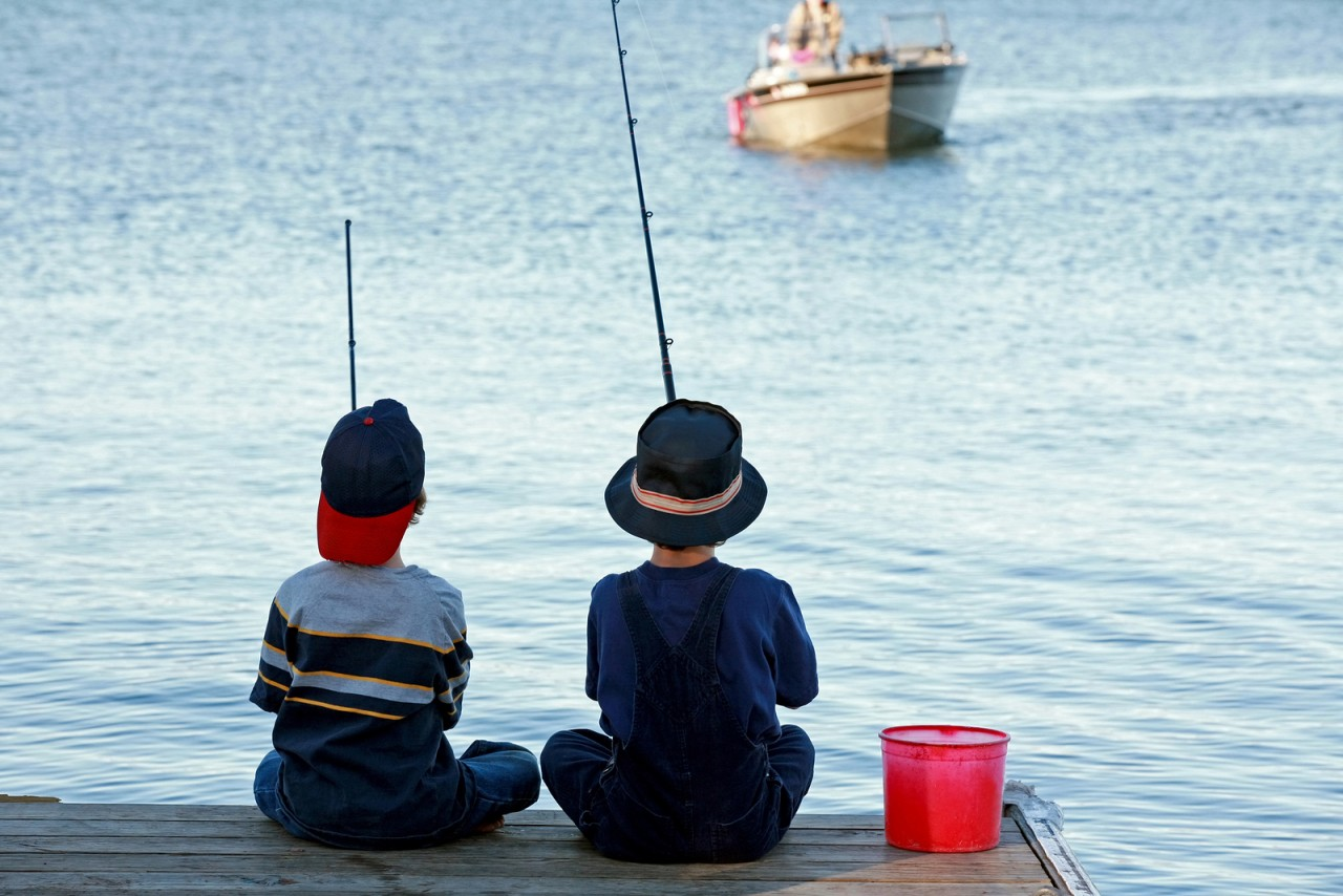 Rite of passage: Fishing buddies