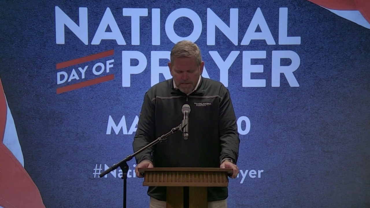 Oklahoma Baptists and national leaders observe National Day of Prayer