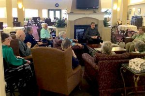 Chaplain ministry continues as COVID-19 ravages nation's nursing homes - Baptist Messenger of Oklahoma 2