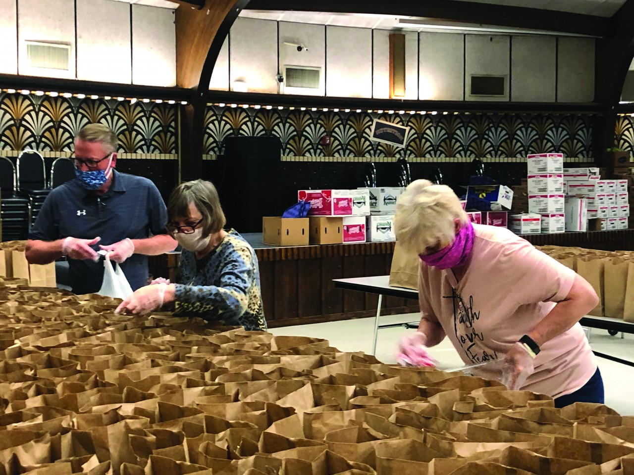 Feeding the hungry: Churches provide relief to struggling communities