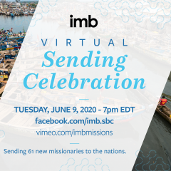 Oklahomans among commissioned missionaries in IMB's first virtual Sending Celebration, June 9