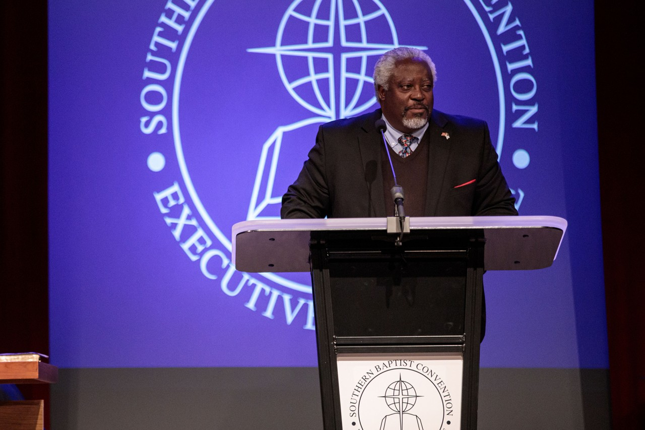 In historic election, SBC Executive Committee elects first African American chair