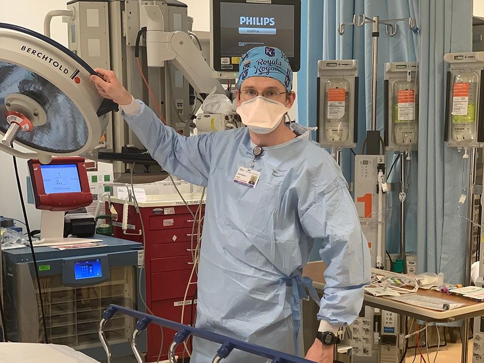 MBTS grad assists in NYC COVID-19 hotspot hospital