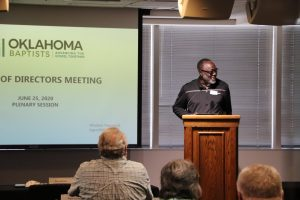 Pressing forward: Oklahoma Baptists' board revises budget, introduces new church planting strategy - Baptist Messenger of Oklahoma 2