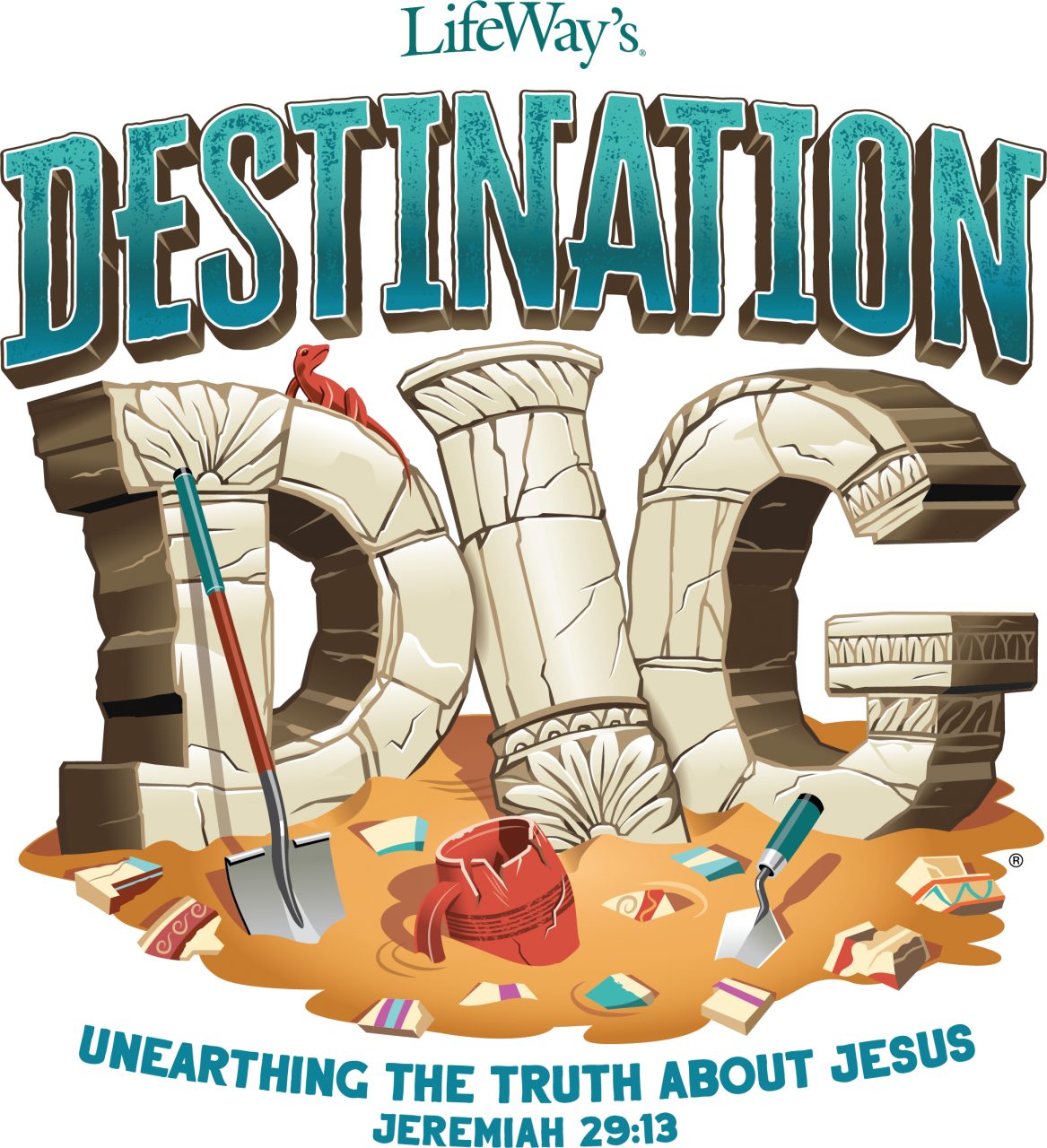 2021 VBS archaeology theme leads kids to unearth truth about Jesus
