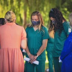 OBU College of Nursing Hosts Prayer Ceremony for Junior Nursing Majors