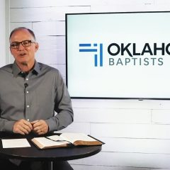 Dilbeck Delivers OBU Chapel Message Aug. 26