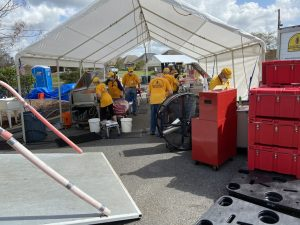 Oklahoma Baptist Disaster Relief helping hurricane victims in Louisiana - Baptist Messenger of Oklahoma 6