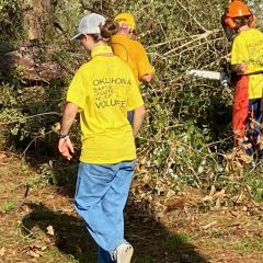 Oklahoma Baptist Disaster Relief 'doing the job' in Louisiana, reports 13 professing faith in Christ
