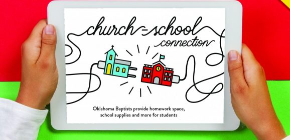 Church-school connection: Oklahoma Baptists provide homework space, school supplies and more for students