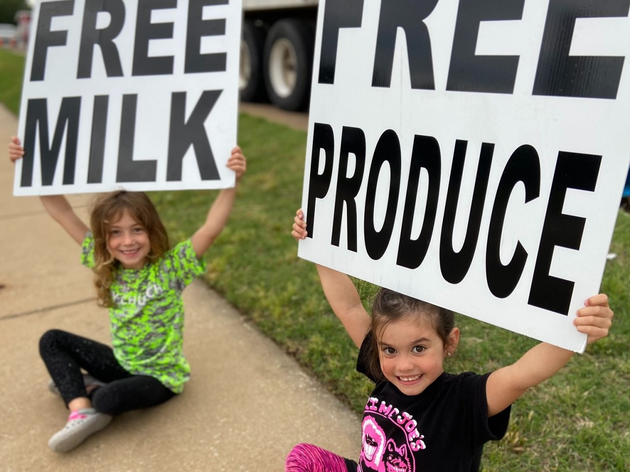 Church-based dairy distribution produces Gospel results