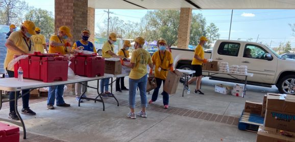 Oklahoma Baptist Disaster Relief helping Laura victims, monitoring Sally