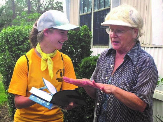 OBU student serves her home with DR