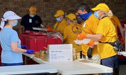 Update on Oklahoma Baptist Disaster Relief work in hurricane recovery