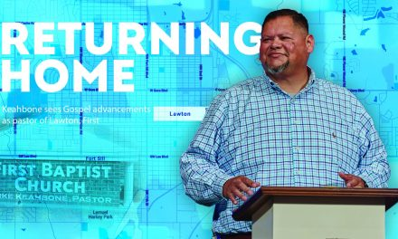 Returning home: Keahbone sees Gospel advancements as pastor of Lawton, First