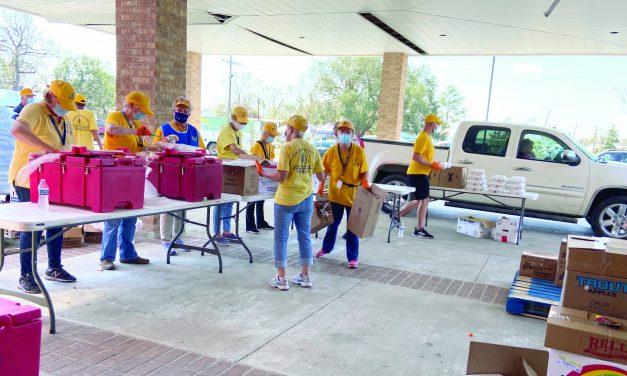 Oklahoma Baptist DR return from serving hurricane victims