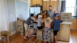 Generosity brings the Gospel to Kenya and Tanzania doctor's family of nine arrives safely in Kenya - Baptist Messenger of Oklahoma