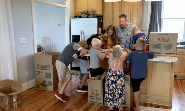 Generosity brings the Gospel to Kenya and Tanzania doctor's family of nine arrives safely in Kenya