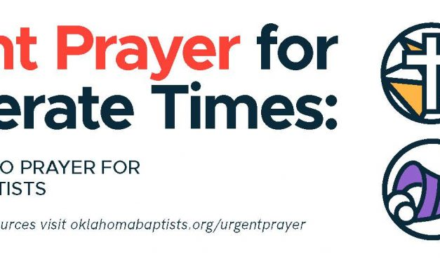 Oklahoma Baptists launch statewide united November prayer effort