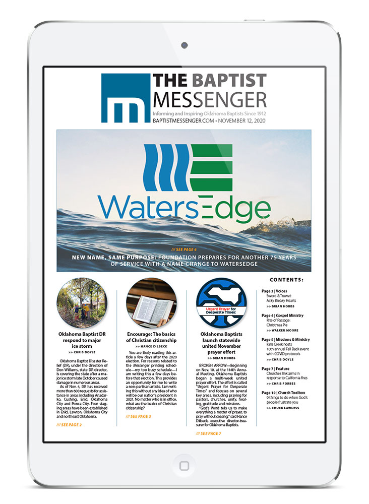 Messenger Digital - Baptist Messenger of Oklahoma