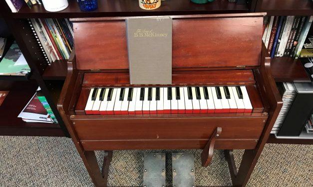 B.B. McKinney's organ donated to Oklahoma Baptists