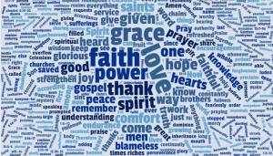 Blog: Encouragement from Paul's prayer word cloud - Baptist Messenger of Oklahoma 1
